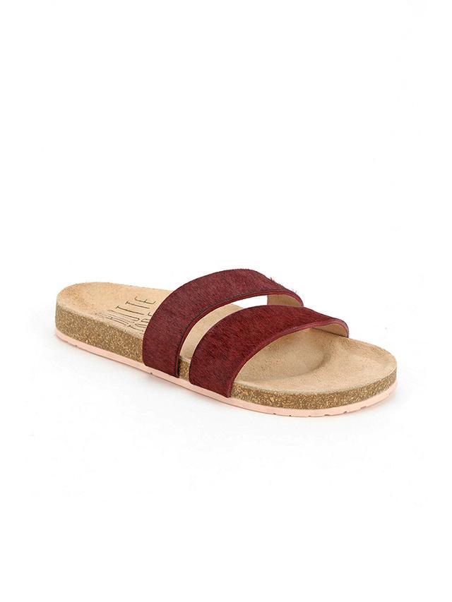 Charlotte Stone Alice Double-Strap Slide Sandal