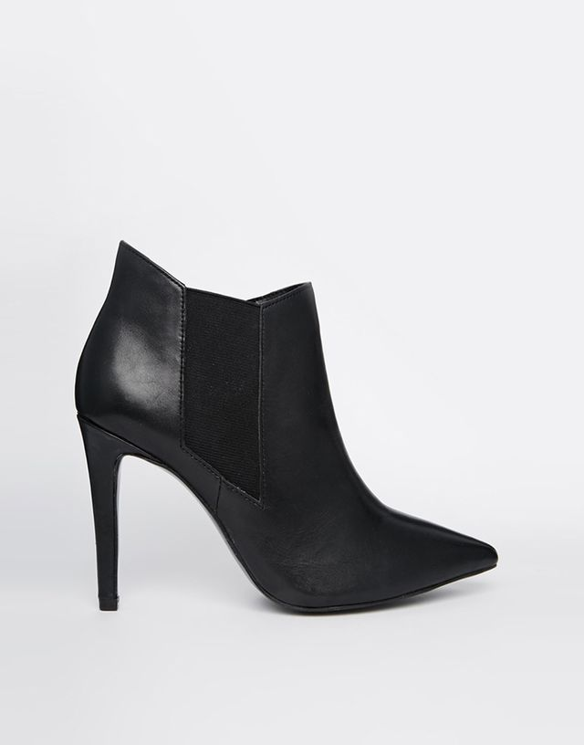 River Island Extreme Point Chelsea Ankle Boots