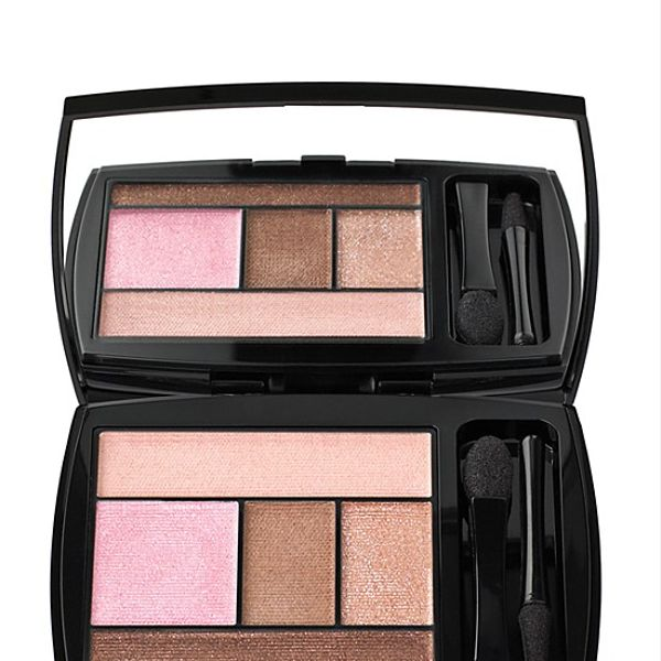Lancôme Color Design 5 Pan Eye Shadow Palette in Kissed by Gold