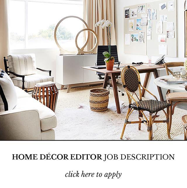 Domaine Is Hiring: A Home Décor Editor
