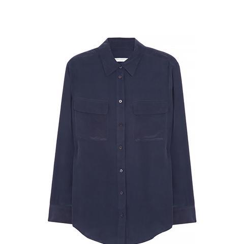 Signature Wash-Silk Shirt