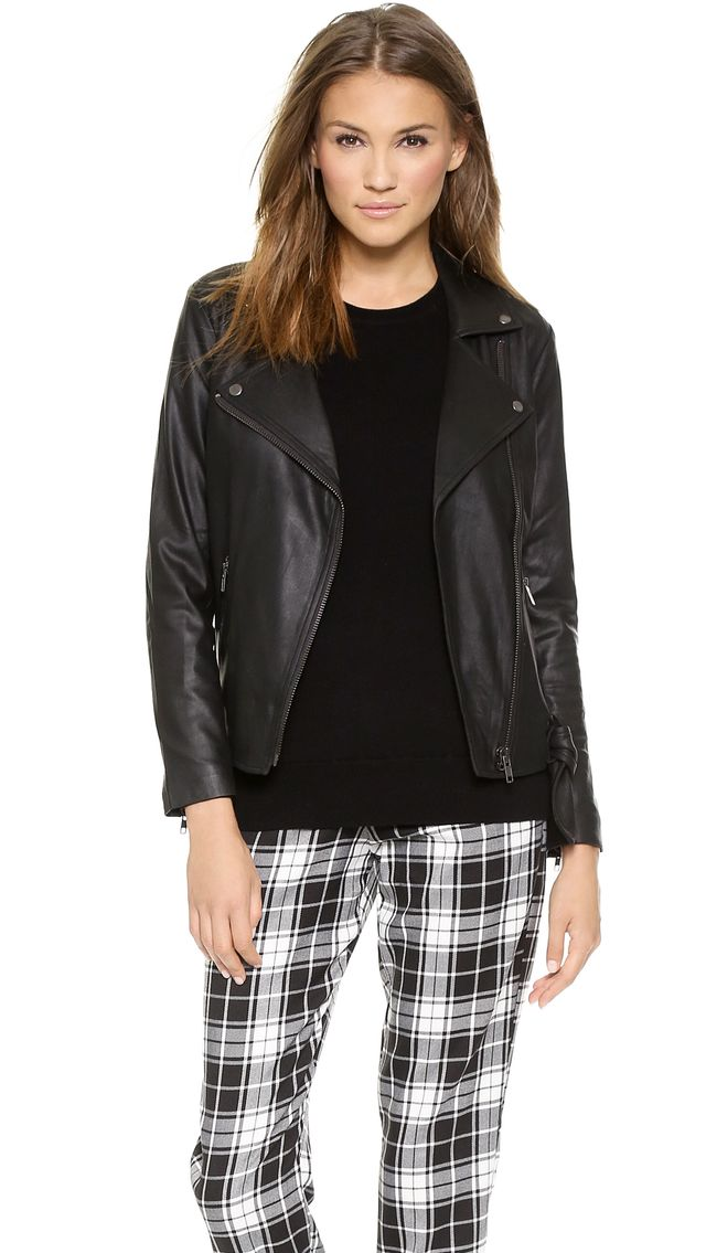 BB Dakota Bettina Leather Jacket