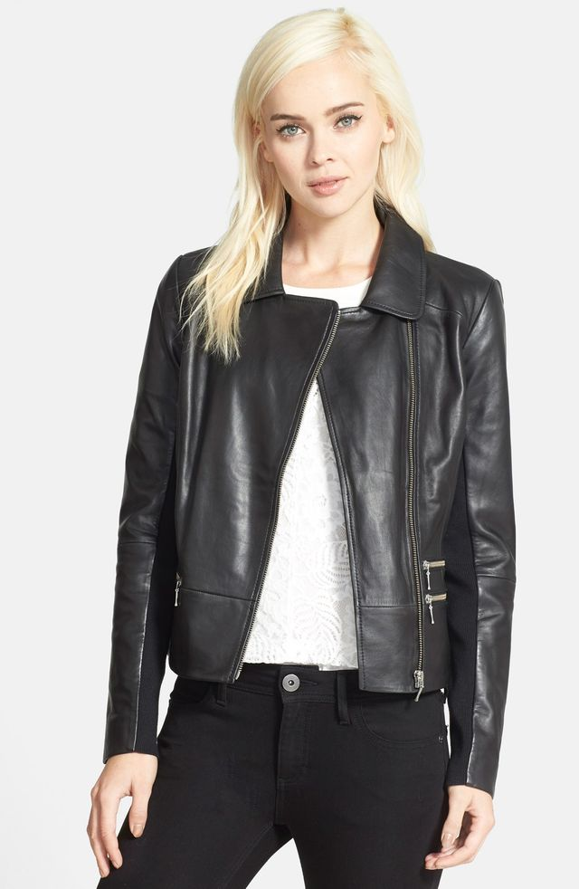 Chelsea28 Zip Leather Jacket