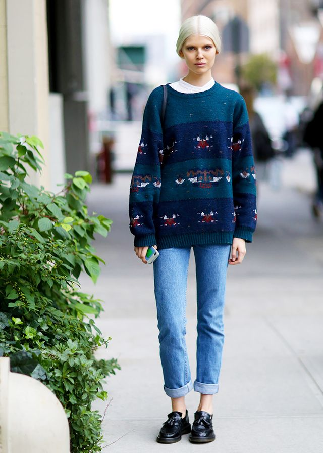 #6: Layer in a Statement Sweater