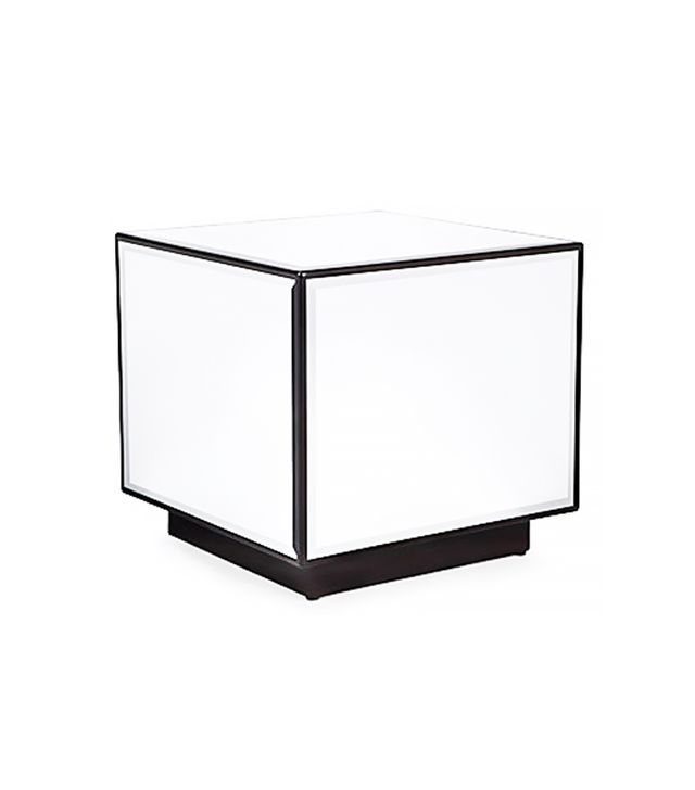 Z Gallerie Oslo Cube End Table