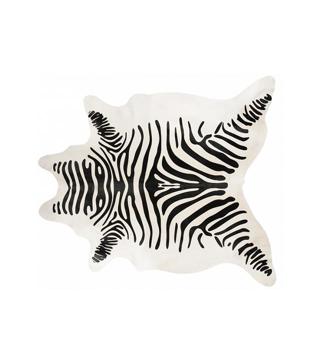 Jayson Home Faux Zebra Hide