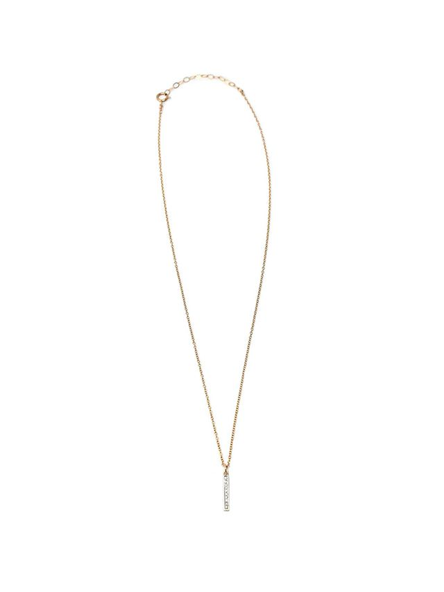 Rachael Ryen Jewellery Diamond Bar Necklace