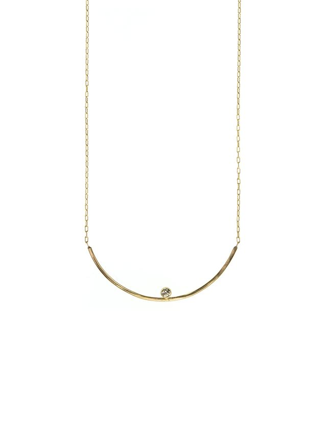 Alexis Russell Design Arc Diamond Necklace