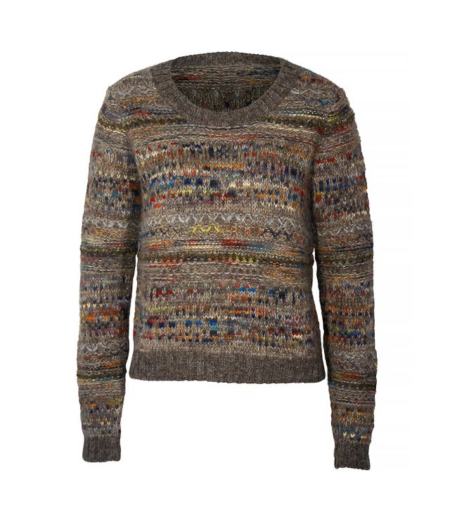 Peruvian Connection Toboggan Alpaca Crew Sweater