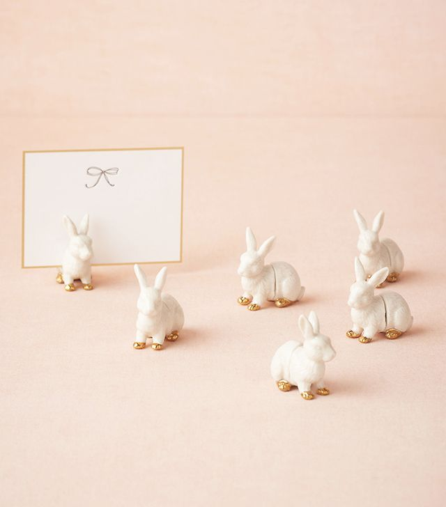 BHLDN Bunny Place Card Holders  (set of 6)