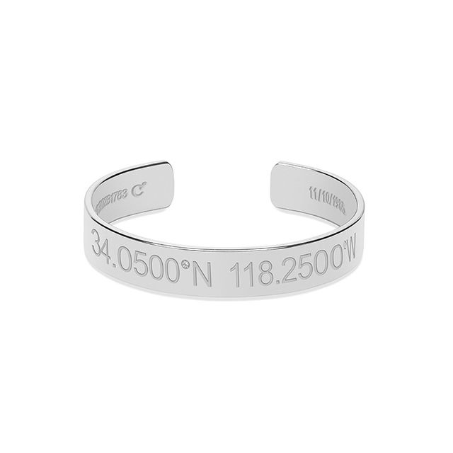 Coordinates Collection Horizon Bracelet