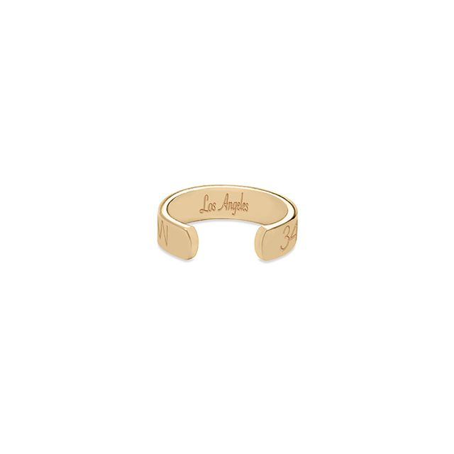 Coordinates Collection Legend Ring