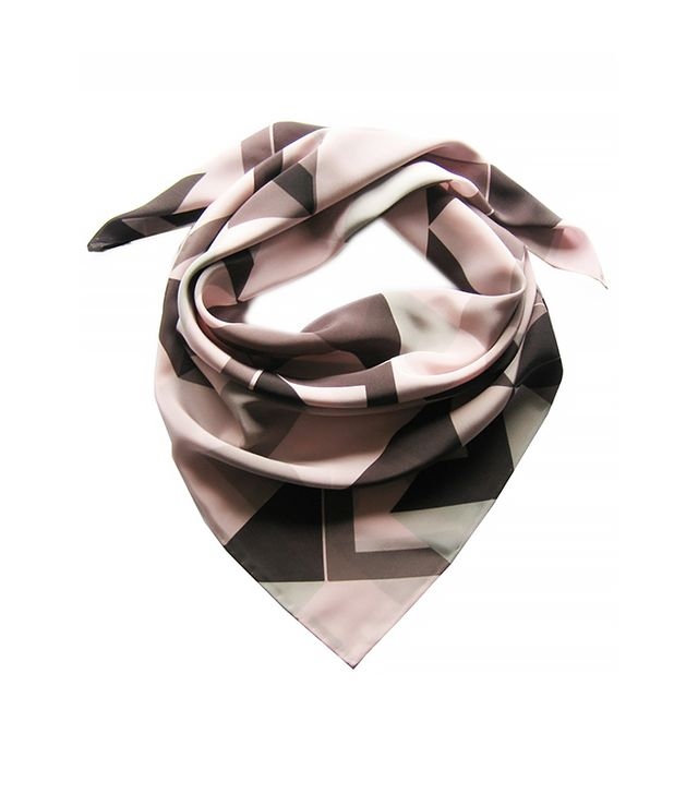 Claire Gaudion Oyster Point Silk Square Scarf