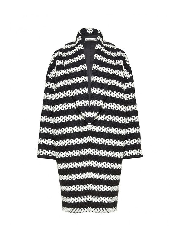 Alice + Olivia Ralter Oversized Coat