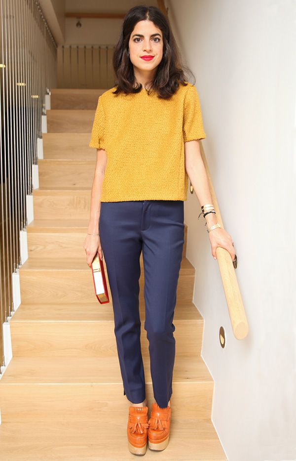 Would You Wear It? Leandra Medine's '70s-Inspired Look