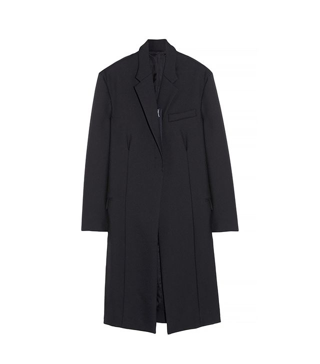 Acne Dover Wool and Mohair-Blend Coat
