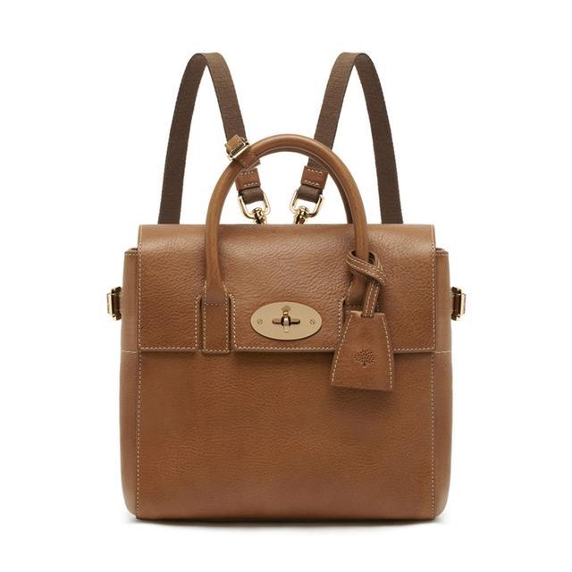 Mulberry Mini Cara Delevingne Bag Oak Natural Leather