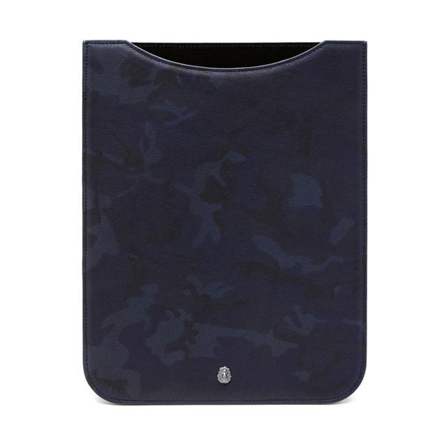 Mulberry Cara Delevingne iPad Sleeve Blue Camo Printed Goa