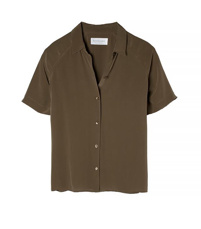 Everlane The Silk Short Sleeve
