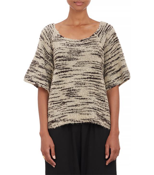 Ulla Johnson Mélange Bouclé Souk Sweater