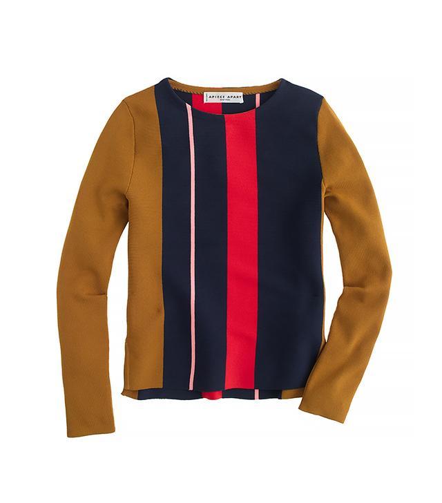 Apiece Apart Sol Stripe Tech Sweater