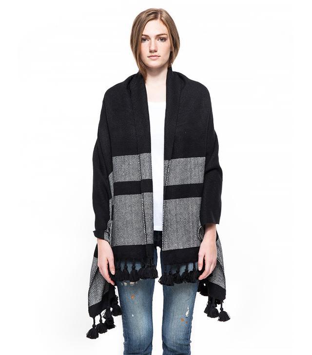 Apiece Apart Stripe Weave Shawl