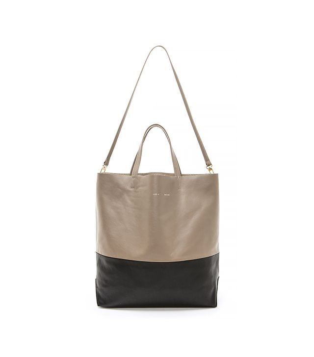 Alice D. Leather Tote