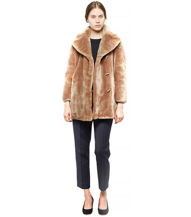 Carven Teddy Bear Coat
