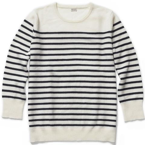 Preston Cashmere Stripe Sweater