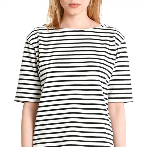 The Breton Half T-Shirt