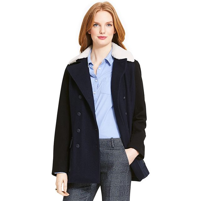 Tommy Hilfiger Colorblock Peacoat