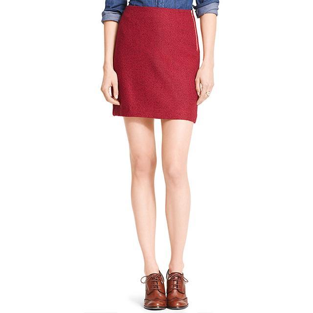 Tommy Hilfiger Tweed A-Line Skirt