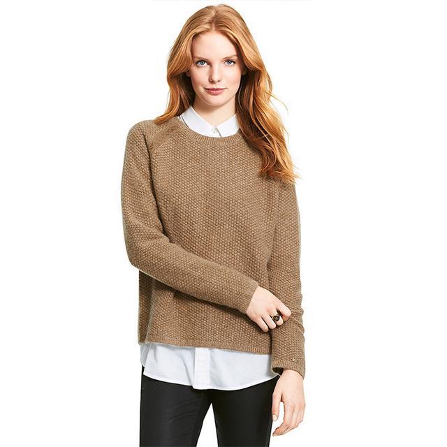 Tommy Hilfiger Textured Back Zipper Sweater