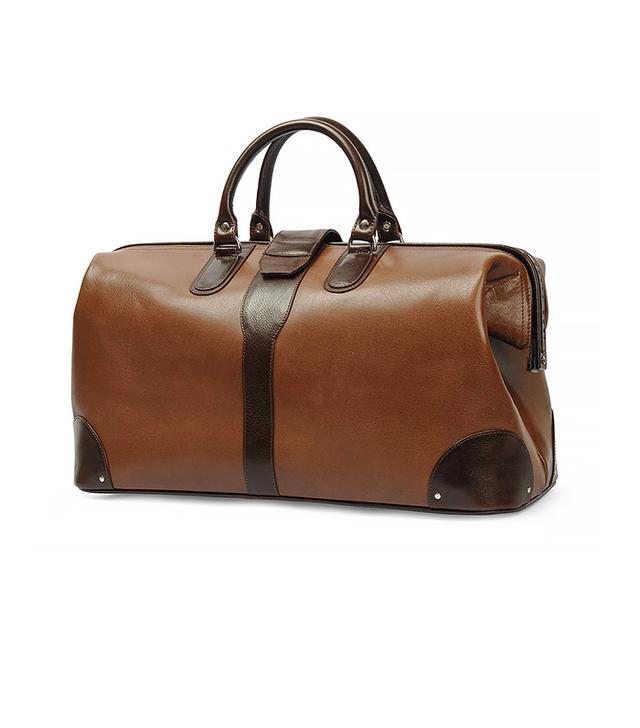 Nappa Dori Brown Leather Doctor Bag
