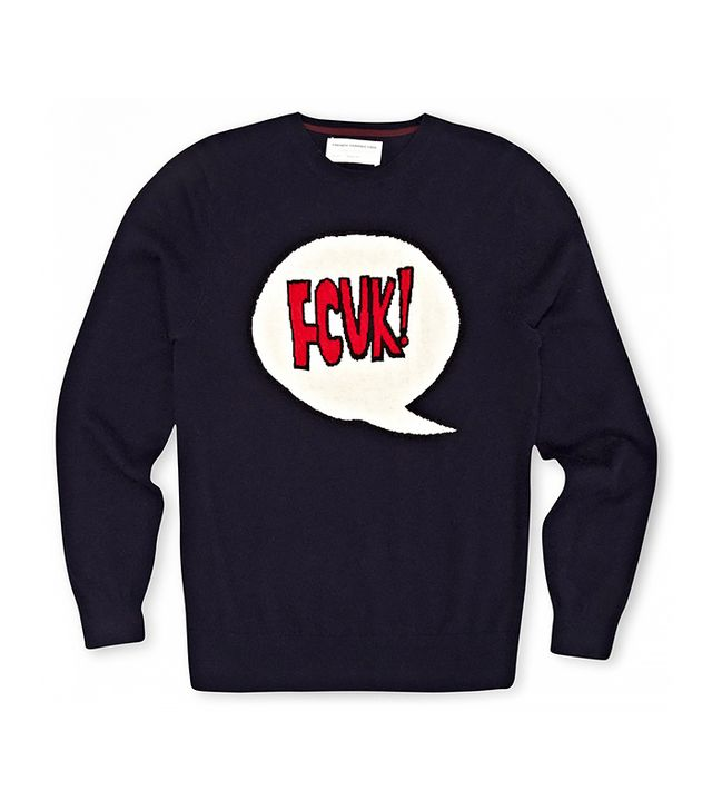 French Connection Shout Wool Jumper