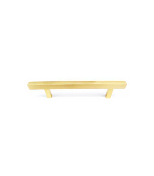 Liz's Antique Hardware Linear Bar Pull in Satin Brass