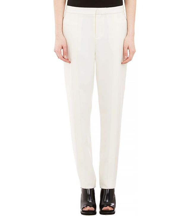 T by Alexander Wang Stitched-Pleat Trousers