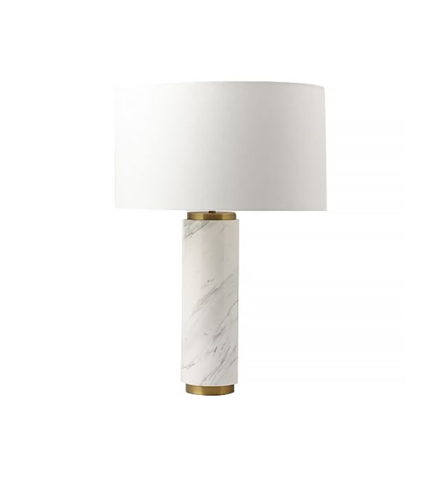 West Elm Marble Pillar Lamp
