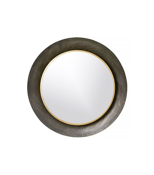 Crate & Barrel Dish Wall Mirror