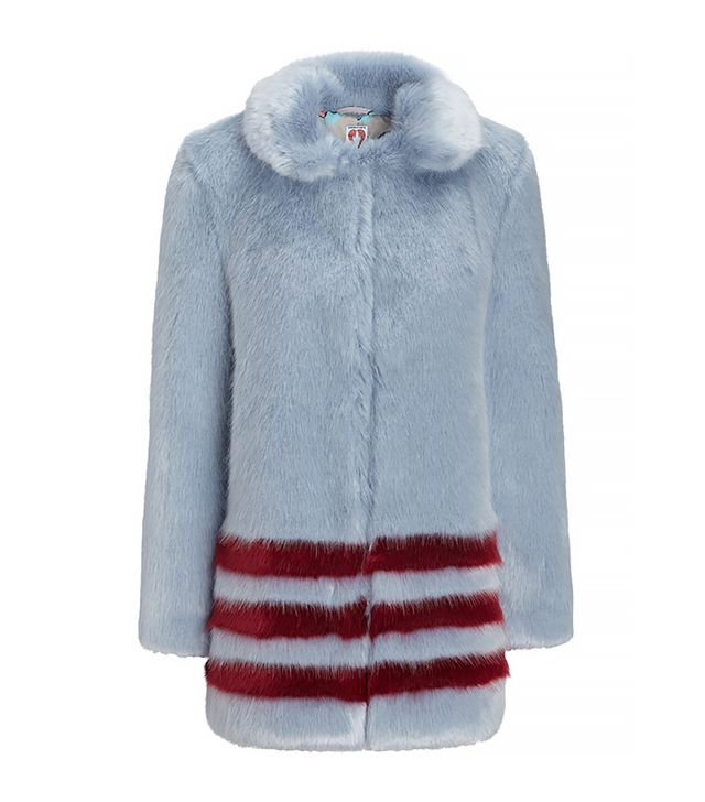 Shrimps Faux Fur Dulcie Coat