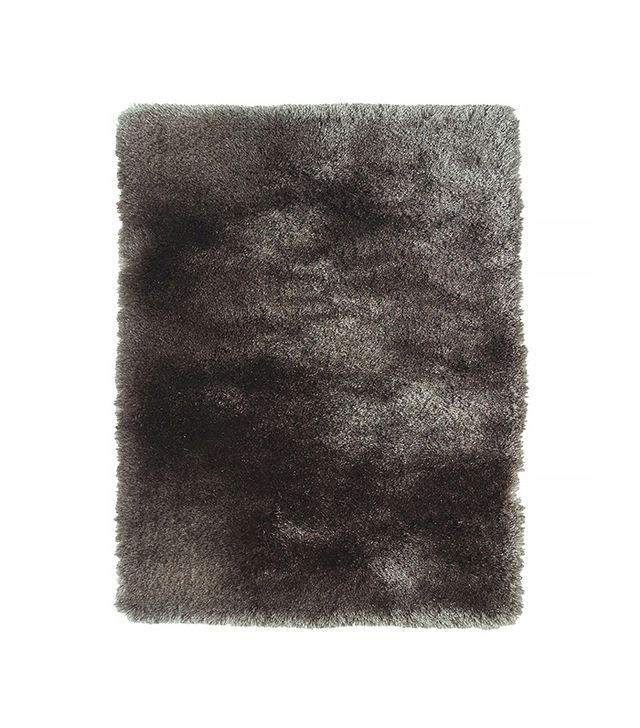 Lowe's Isleta Rectangular Gray Solid Tufted Wool Accent Rug