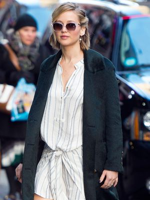 The Easy Way to Wear Your Favorite Summer Dress When It's Cold Outside