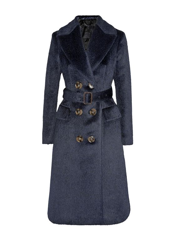 Burberry Prorsum Brushed Alpaca and Wool-Blend Coat
