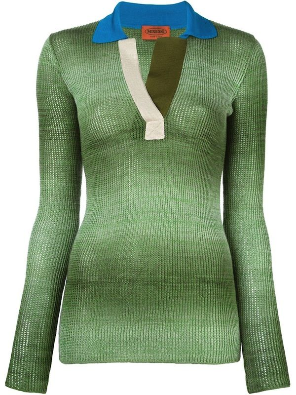 Missoni Contrast Neck Sweater