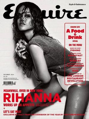 Rihanna's Steamy Spread For Esquire Magazine