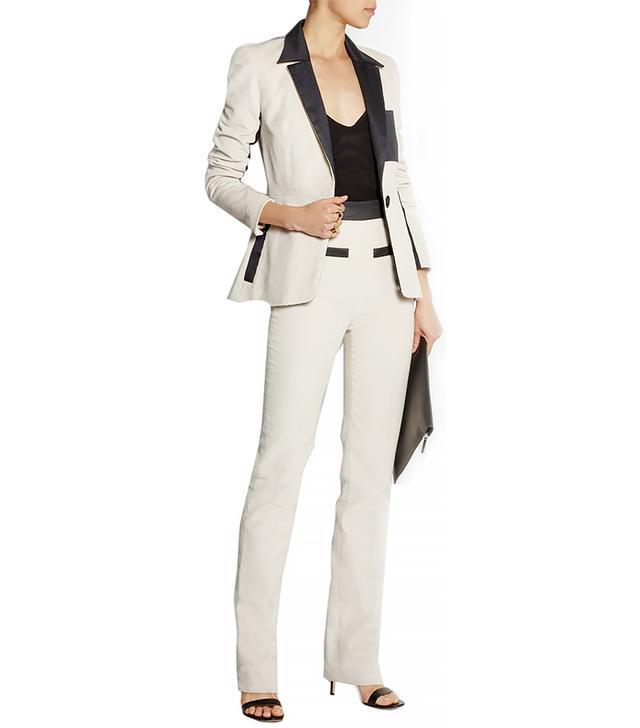 Atto Cotton-Corduroy Tuxedo Jacket