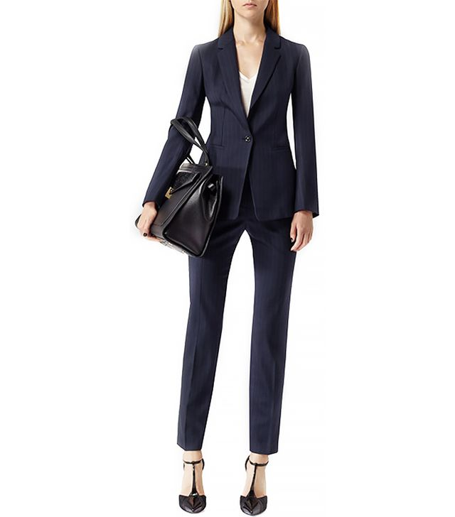 Reiss Samuel Pinstripe Tailored Blazer