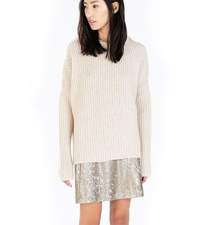 Zara Batwing Sleeved Sweater