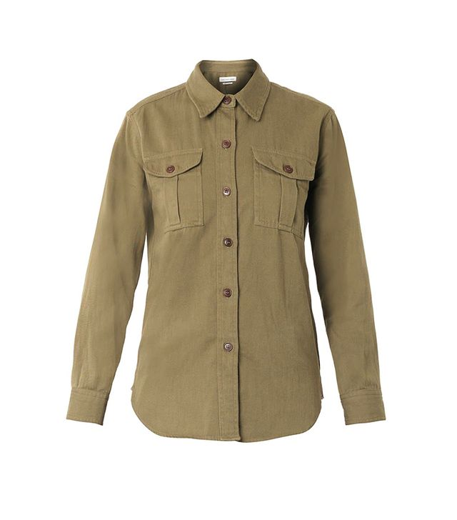 Isabel Marant Etoile Wigston Chest-Pocket Shirt