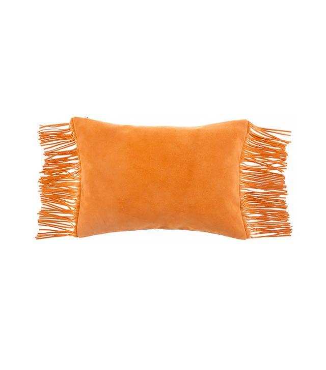 Zara Home Fringe Pillow Cover